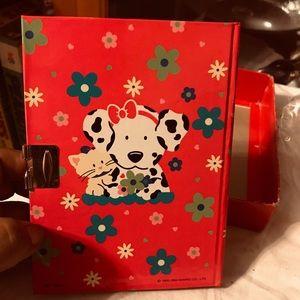 Vintage Sanrio 1994 Spottie Dottie Diary In Box